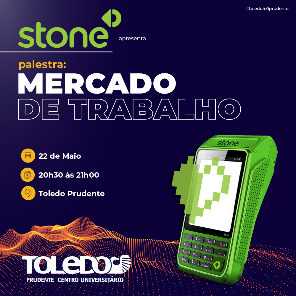 Empresa Stone fará bate papo com alunos da Toledo Prudente