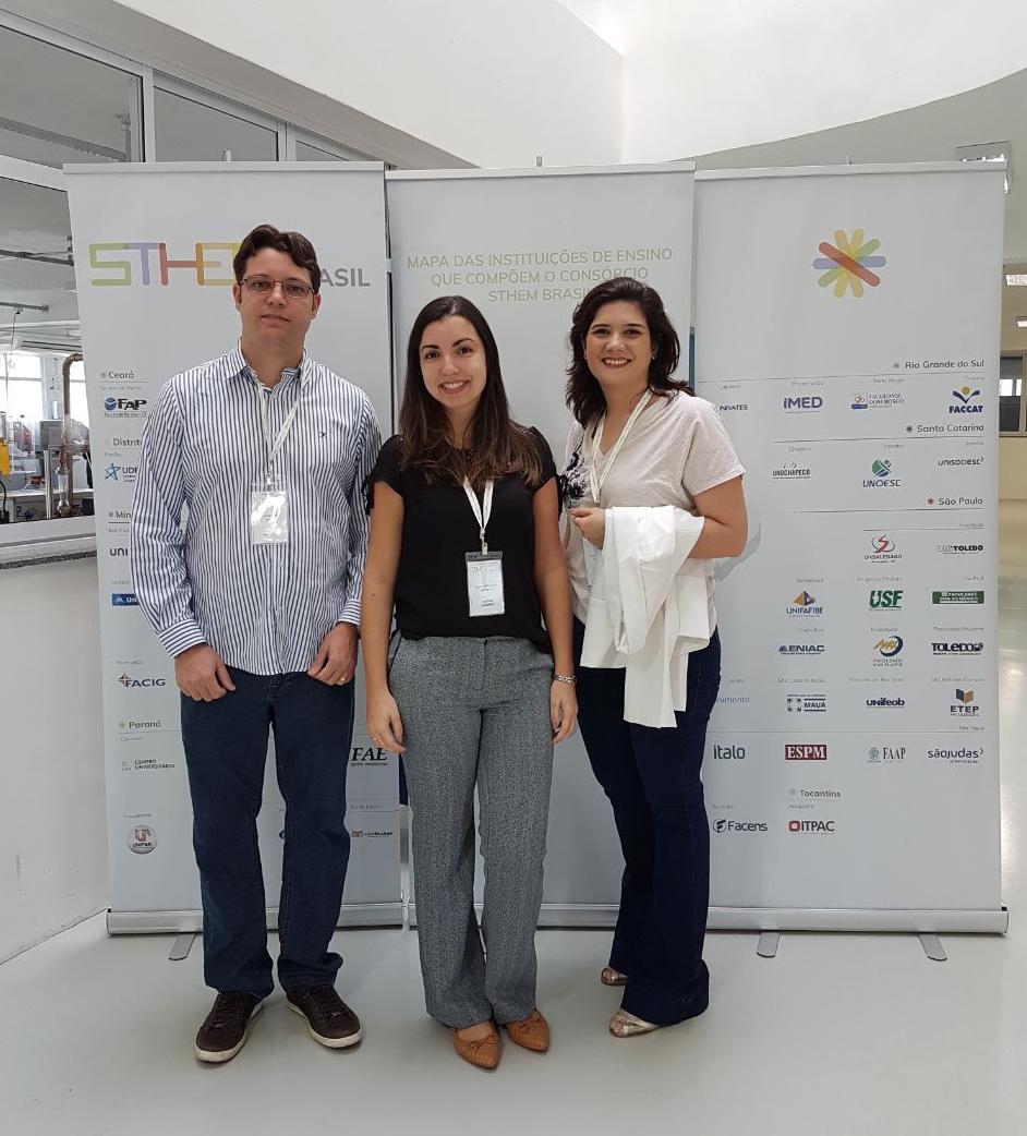 Professores participam de capacitação STHEM Brasil